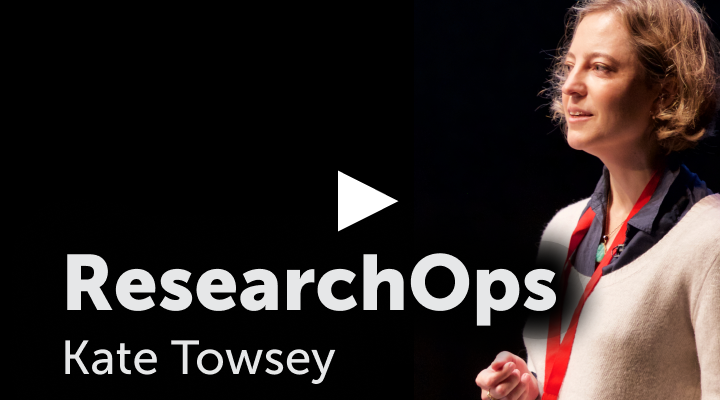 ResearchOps - Kate Towsey
